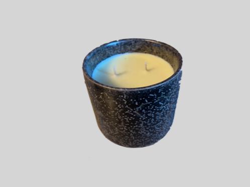 Duftlys i keramikkrukke