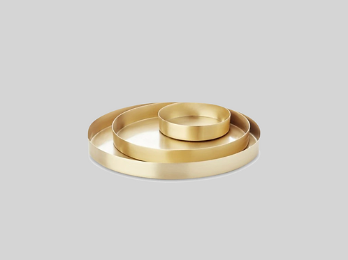 Tray set 3 - Gold