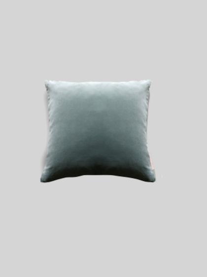 Velvet Cushion - Minty Breeze