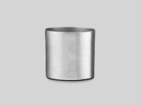 Skjuler - aluminium 14 cm