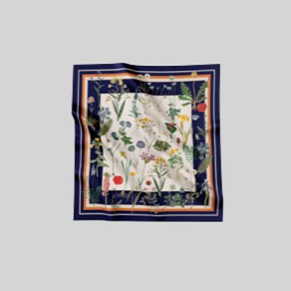 Flower field - scarf