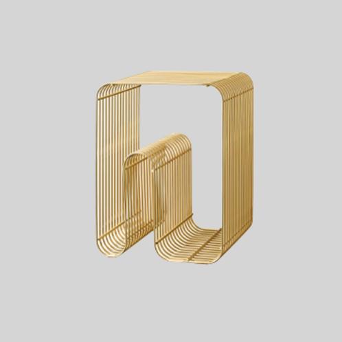 Curva skammel - Guld