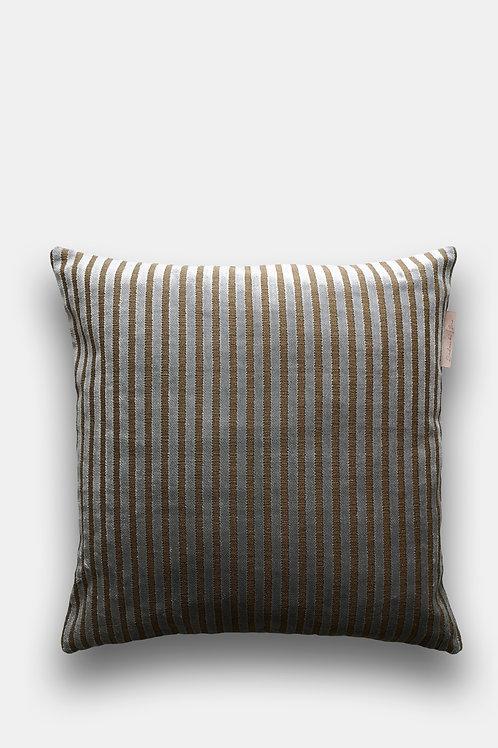 Velvet Cushion - Soft Stripe