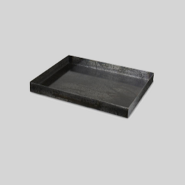 Bakke - sort metal