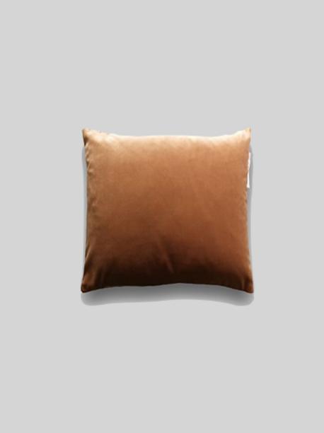 Velvet Cushion - Warm Orange