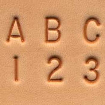 Alphabet Number Set 3mm