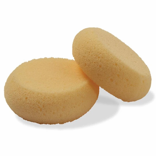 Leathercraft Sponge Round - 2 pack