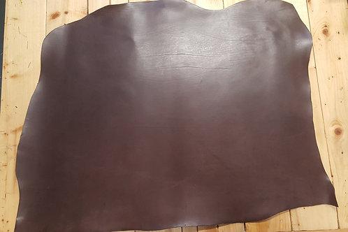 Dark Brown European Veg Tan Shoulder 3.0-3.5mm