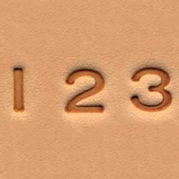 """1/4"""" number stamp set"""