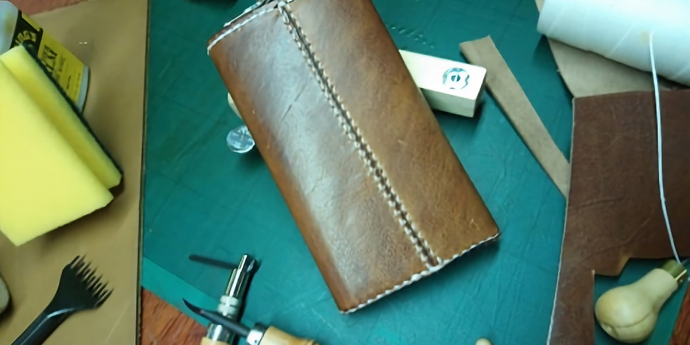 Leather-Craft Class - Half-Day Leather Hip-Flask Workshop (20/10/18)