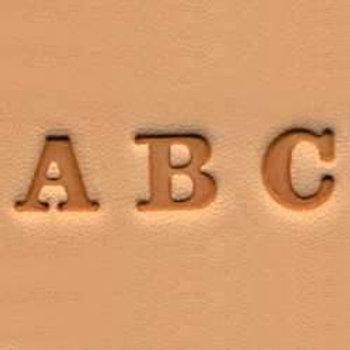 Alphabet Stamp Set 6mm