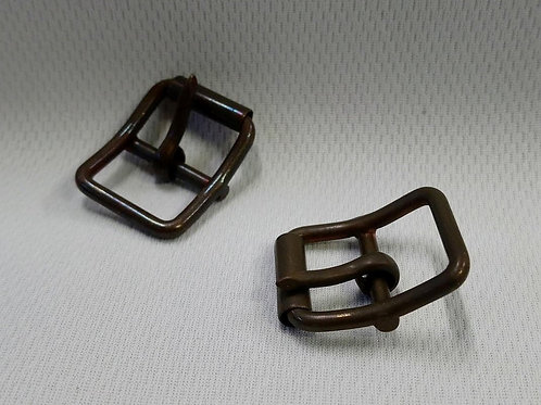 Antique Copper Roller Buckle - 2 Pack