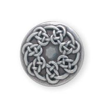 """Pictish Knot Concho 1"""""""