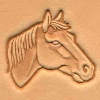 HORSE HEAD CRAFTOOL® 3-D STAMP (RIGHT)