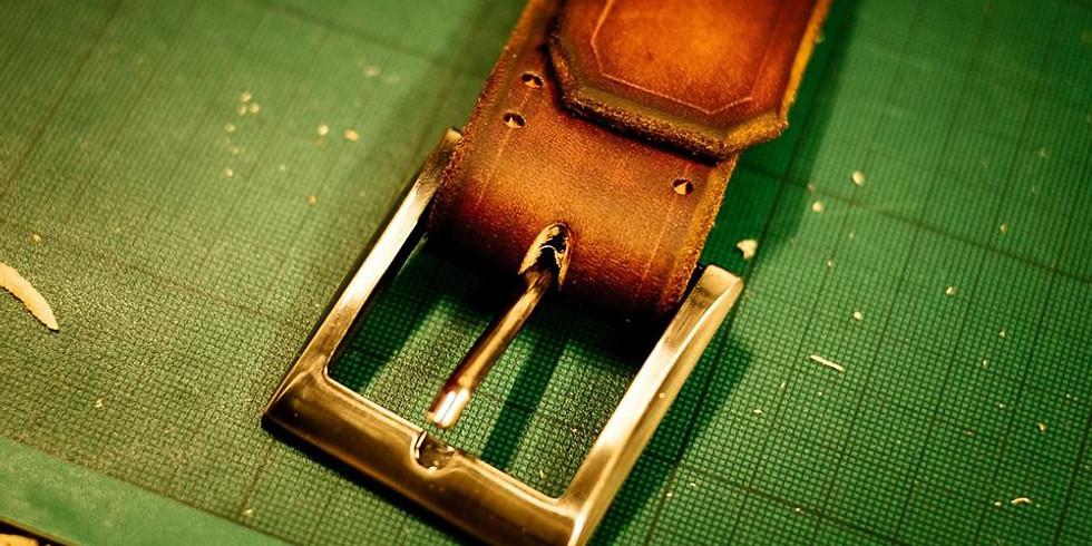 Leather-Craft Class - Belt-Making Workshop (06/12/18)