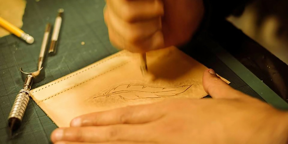 Beginner's Leather Carving and tooling class (12 October 19)