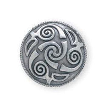 "Lindisfarne Spiral Concho 1"""