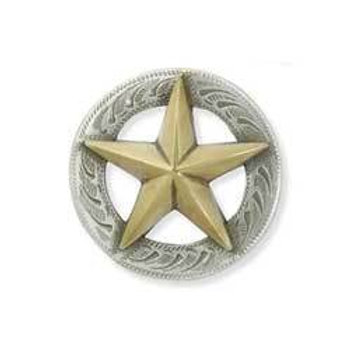 3D Texas Star Concho