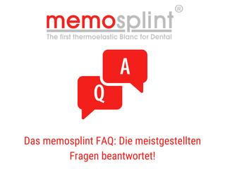 memosplint FAQ: Die am häufigsten gestellten Fragen beantwortet