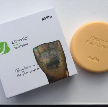 Die optimill 3D-Colour Plate Anmischplatte für natürliche Farbeffekte mit neuer Vorgehensweise!
