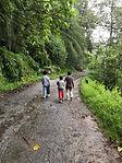Footing du matin autour du pensionnat (1