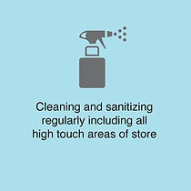 Cleaning regularly