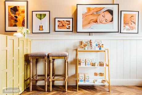 Reception - Massage in inner west