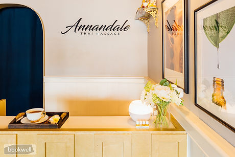 Reception at Annandale Thai Massage
