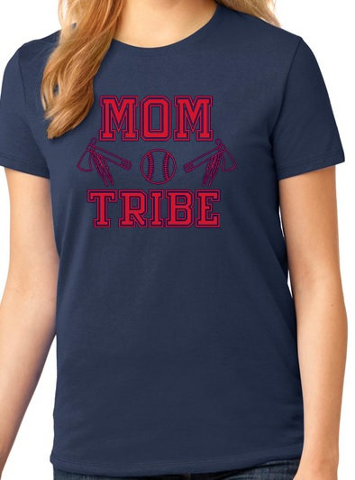 Port & Company Ladies Mom Tribe Tee | LPC54MT