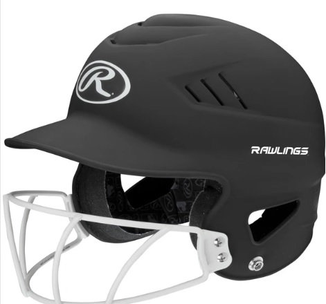Rawlings Softball Matte Helmet (RCFHLFG)
