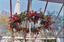 gala-flower chandelier
