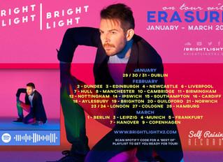 Erasure Tour starts 29th JANUARY!