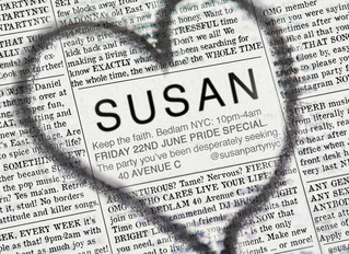 SUSAN : NYC Pride Party!