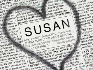 SUSAN : NYC Pride Party!