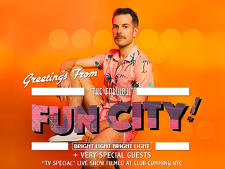 Greetings from 'Fun City' live show!