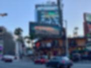 neon sign sunset strip hollywood califor