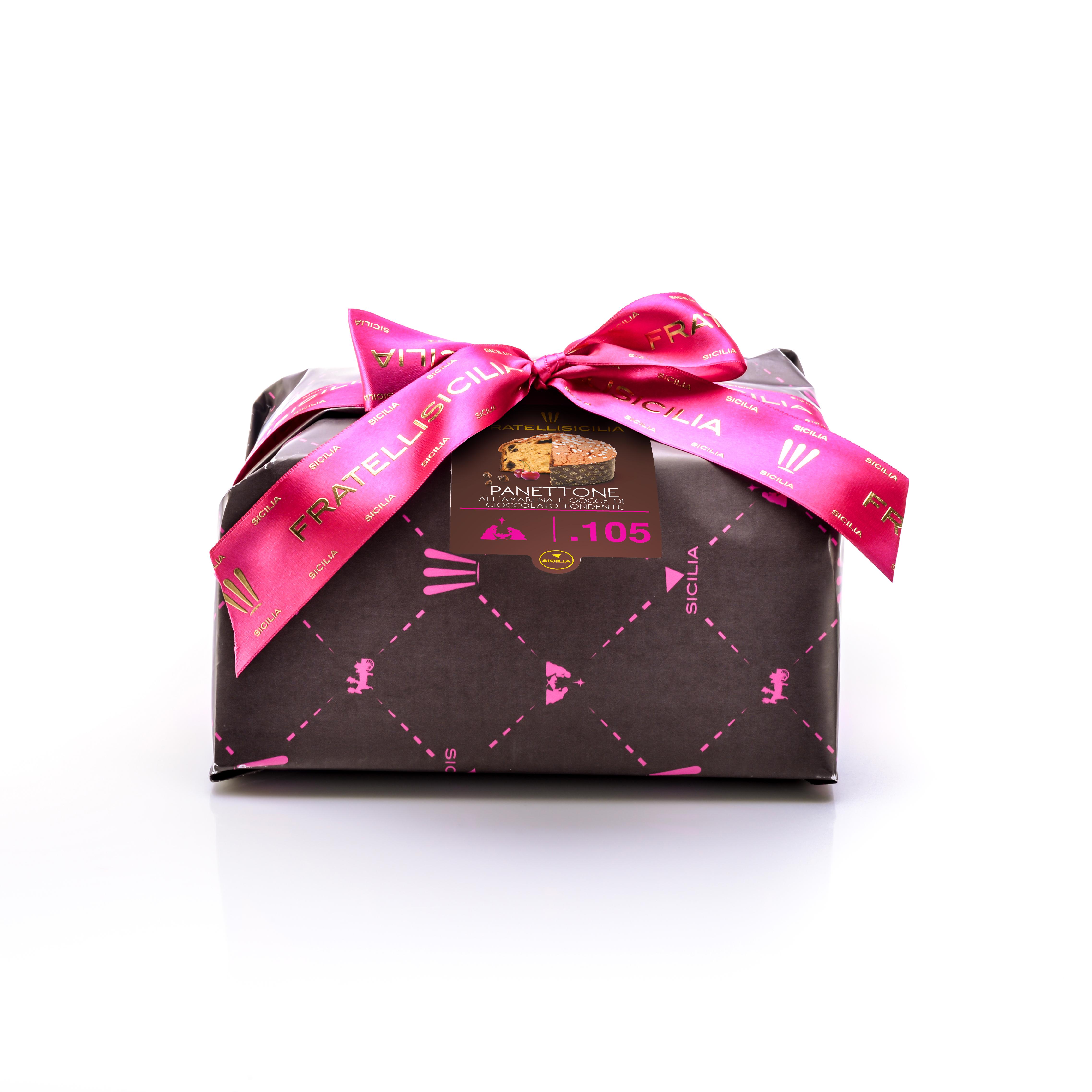 Panettone Amarene & Chocolat Noir
