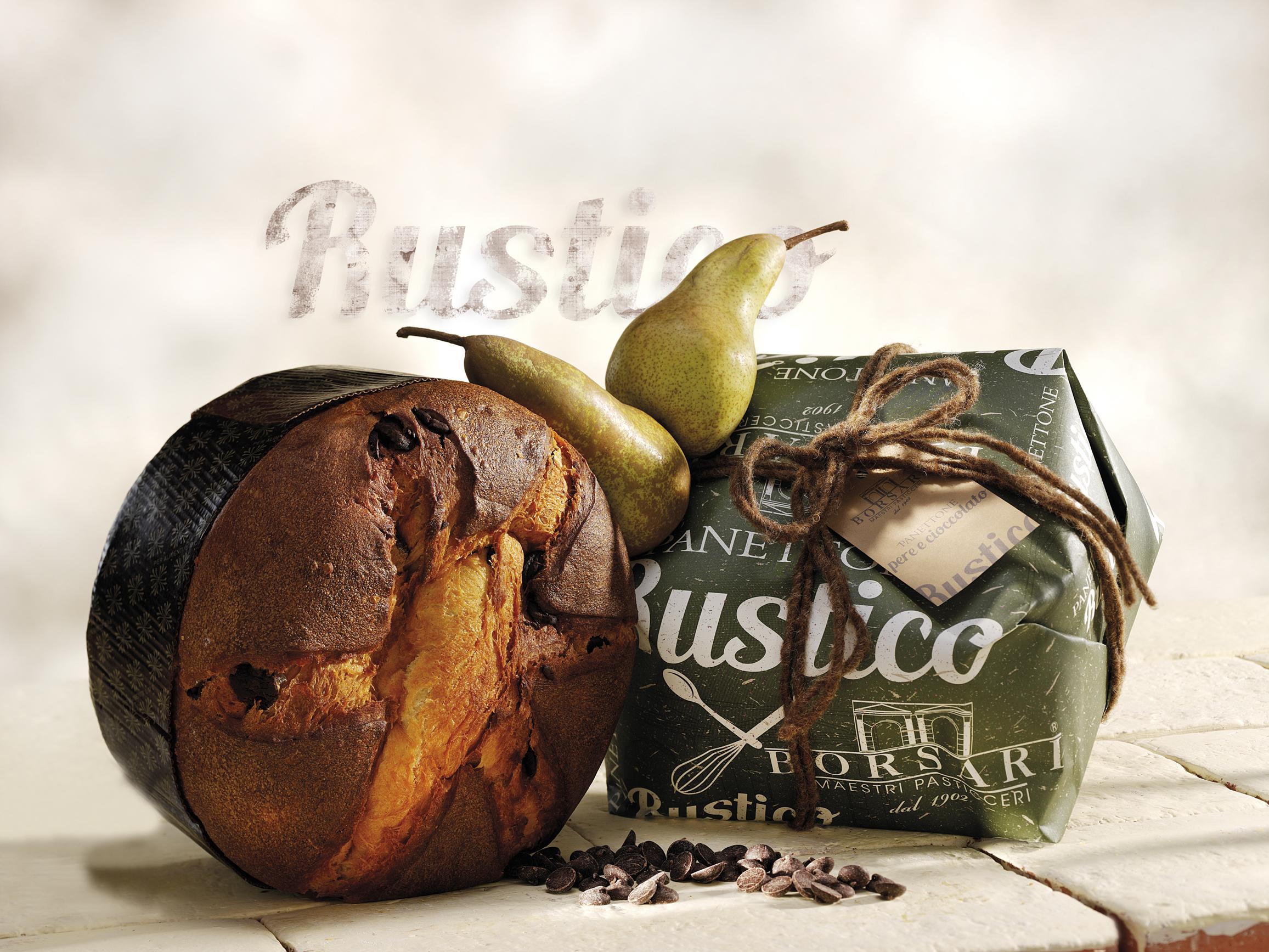 BORSARI - Panettone poire & chocolat