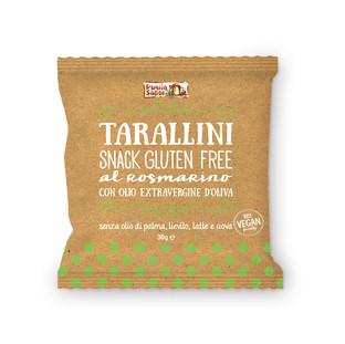 Tarallini sans gluten au romarin 30g