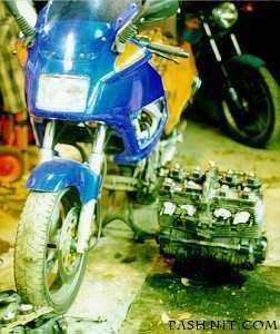 Replacing the motor on my Yamaha FJ1200