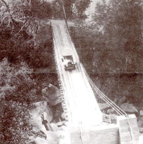 Mosquito Bridge dated to 1919