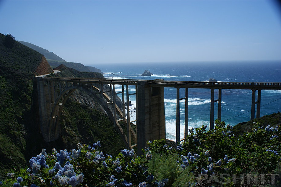 Bixby Creek Bridge, California Big Sur