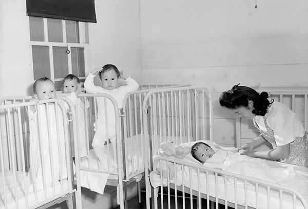 Japanese-American orphans as young as 6 months were removed from foster parents, relatives and orphanages and sent to Manzanar