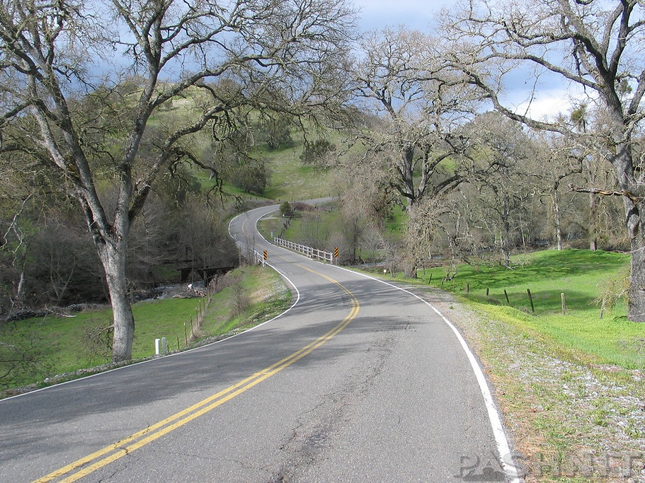Stony Creek Rd, Amador County, California Motorcycle Roads