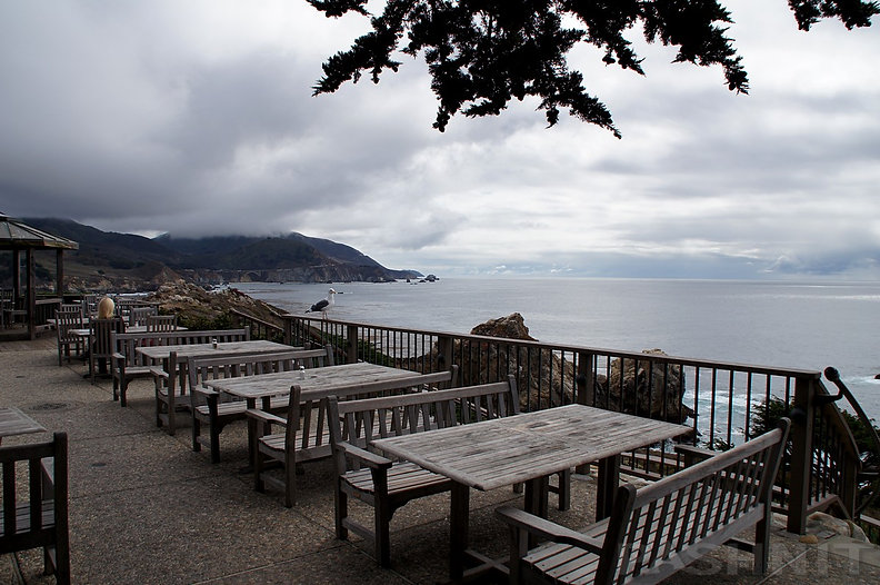 Rock Point Restaurant, California Big Sur Coastline