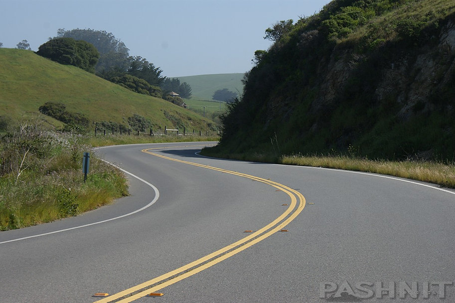 Hwy 1 south of Tomales