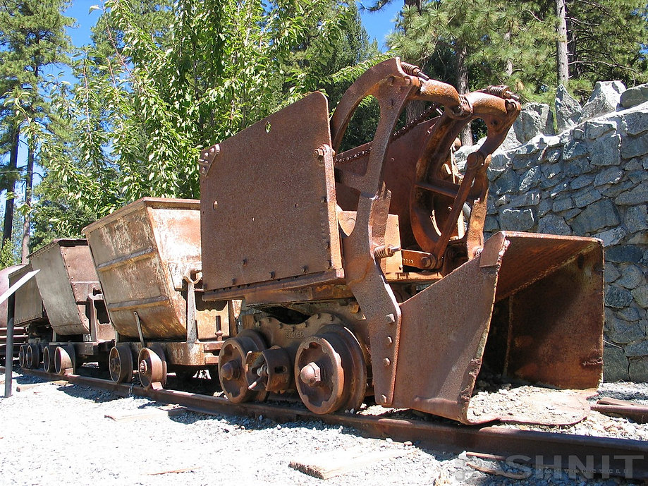 Innovations in mining cars at Empire Mine