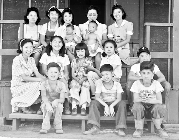 Orphans at Manzanar Children's Village