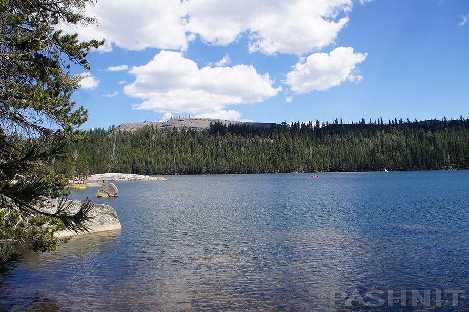AlpineLake with Inspiration Point in the background  