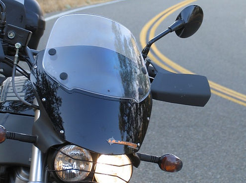 Buell XB12X Motorcycle windscreen